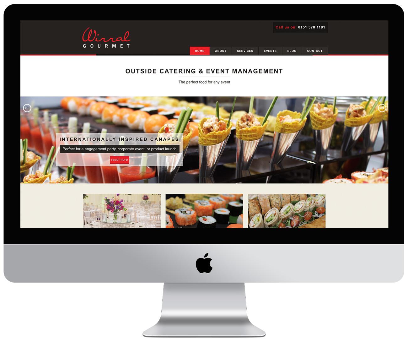 Wirral Gourmet website