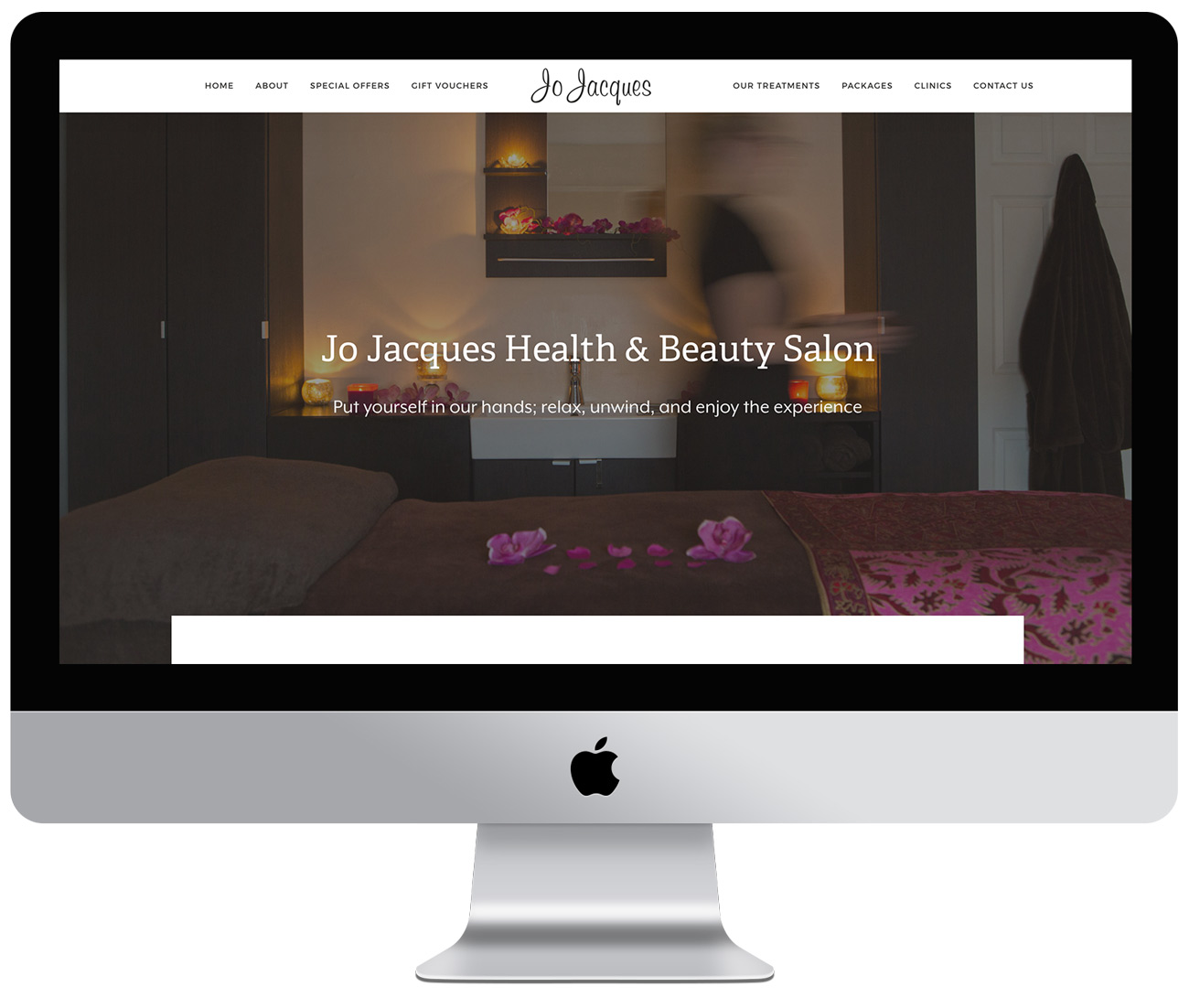 Jo Jacques eCommerce website development